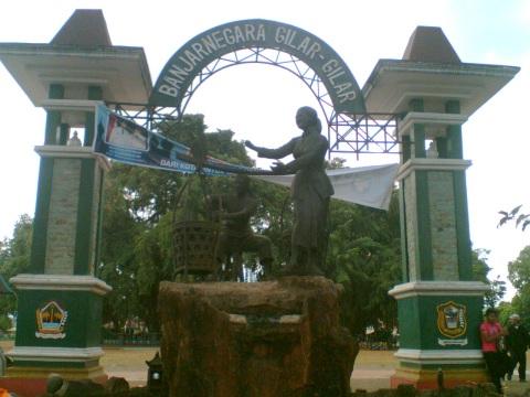 Miniatur Dawet Ayu Banjarnegara