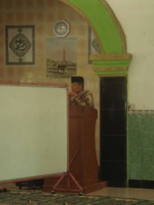 Bapak Kyai H, Ahmad  Ngisom, Alh.