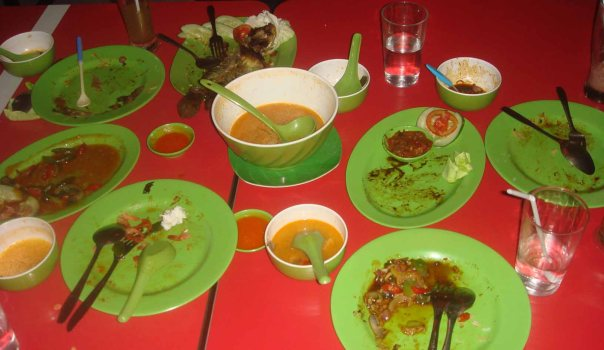 Makanan Habis