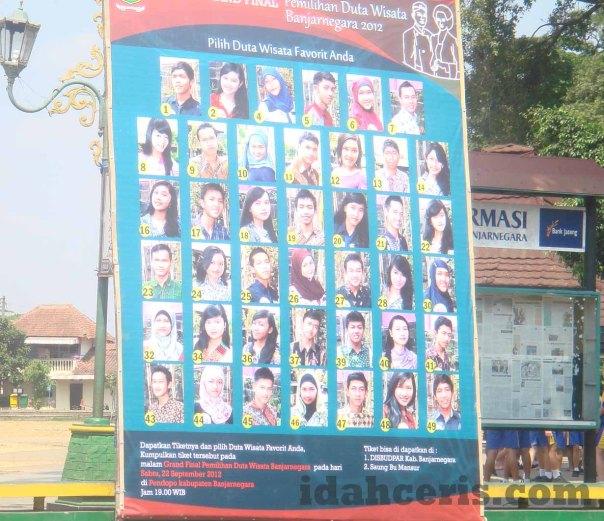 Peserta Duta Wisata Banjarnegara