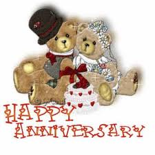 Teddy Bear Happy Anniversary