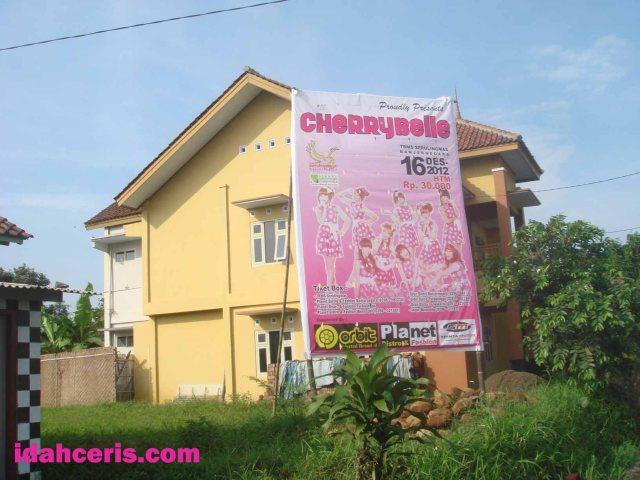 Aksi CherryBelle di Banjarnegara