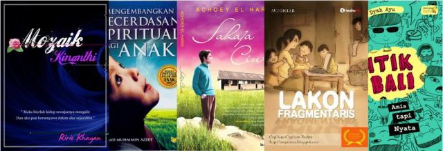 Buku karya Sahabat Blogger