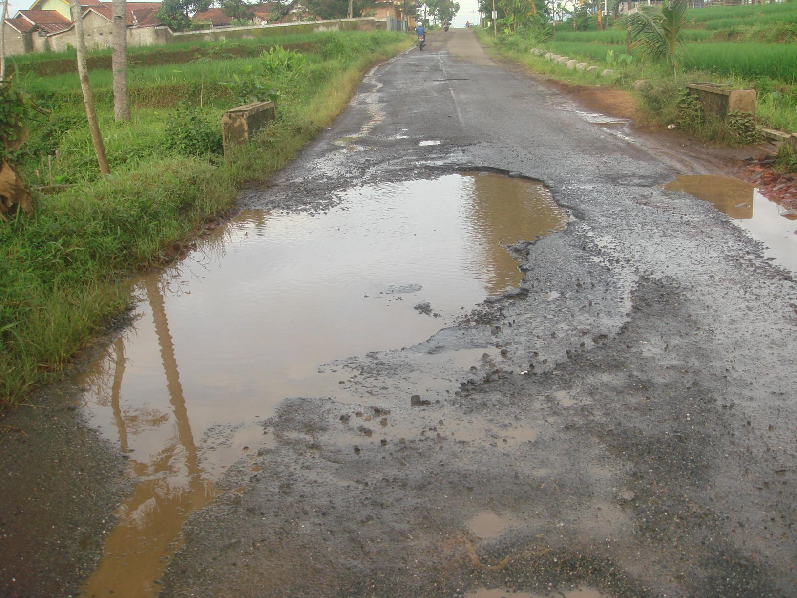 Titik Jalan Rusak di Banjarnegara