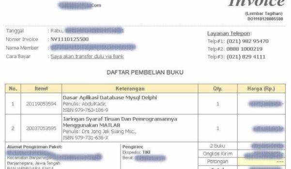 Invoice Lembar Tagihan