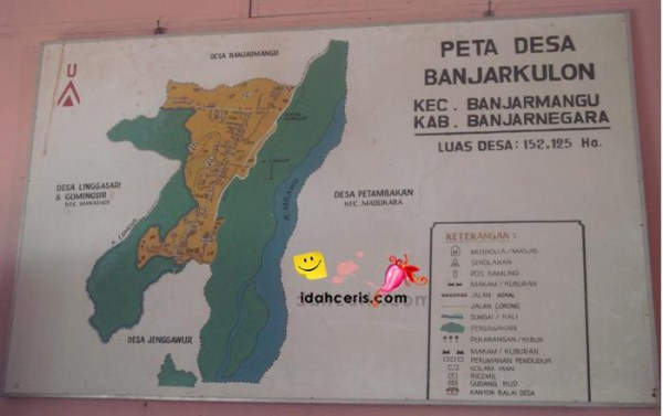 Peta Desa Banjarkulon