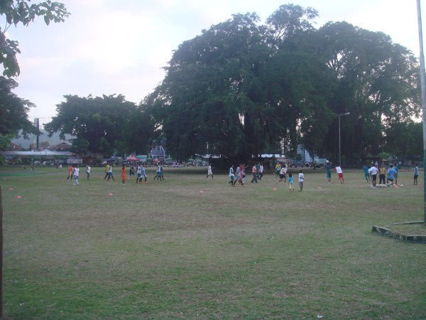Olahraga di Alun-alun