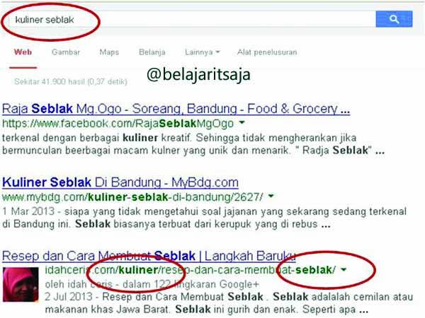 Mendongkrak Artikel Pada Search EngineMendongkrak Artikel Pada Search Engine
