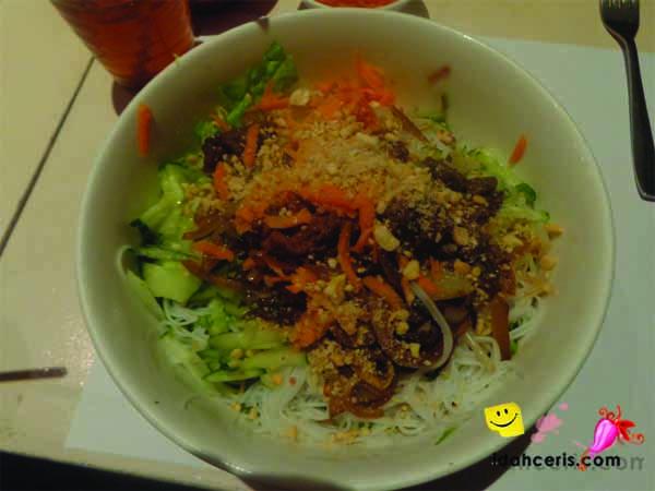 Masakan Vietnam Bun Bo Xao