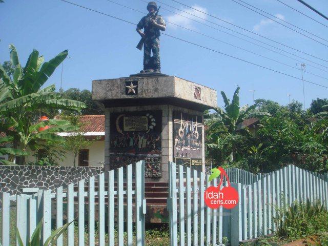 Monumen Hasil Perjanjian Renville Di Banjarnegara